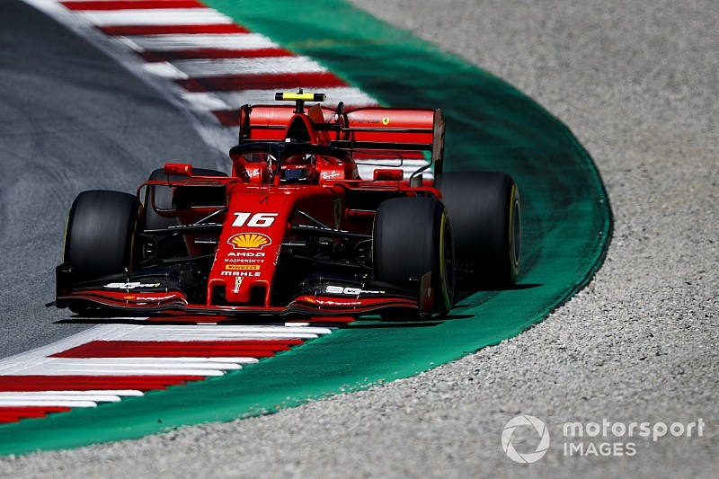 奥地利大奖赛FP2:莱克勒克跃居头名,三大车队三起大事故