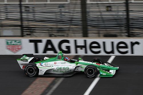 IndyCar GP: Herta leads fellow rookie Rosenqvist in FP2