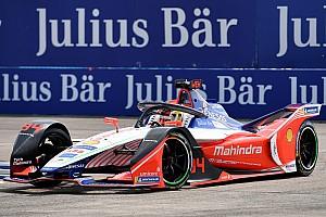 Berlin E-Prix: Mahindra slips behind Nissan after tough race