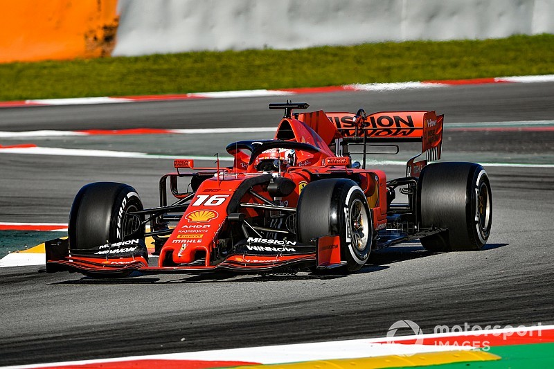 Ergebnis: Formel-1-Tests in Barcelona, 1. Tag