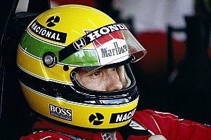 ¿Cómo se creó el diseño del casco de Ayrton Senna?