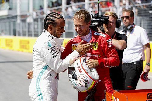 Vettel nyerte az időmérőt, és Hamilton szerint ez fantasztikus