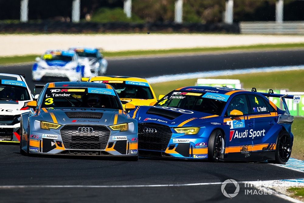 """Tander """"pissed"""" after TCR clash with wife Leanne"""