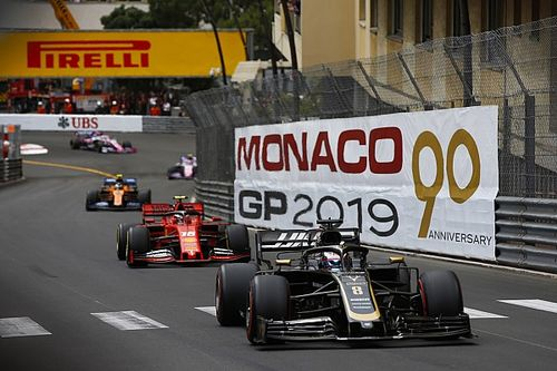 Fotogallery: lo svizzero Romain Grosjean nel Gran Premio di Monaco