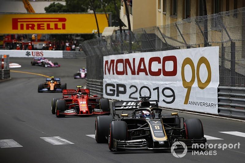 Diaporama : le suisse Romain Grosjean au Grand Prix de Monaco