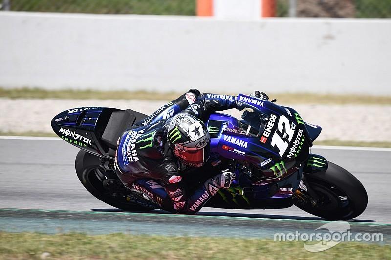 Viñales bovenaan op testdag Barcelona, Lorenzo en Marquez crashen