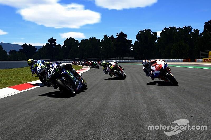 Rossi sera finalement absent de la course virtuelle du MotoGP
