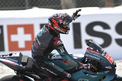 MotoGP: Quartararo supera Viñales em treino marcado por queda de Lorenzo