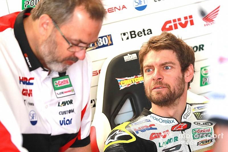 """Crutchlow sufre una """"lesión seria"""" en la rodilla y es duda para Sachsenring"""