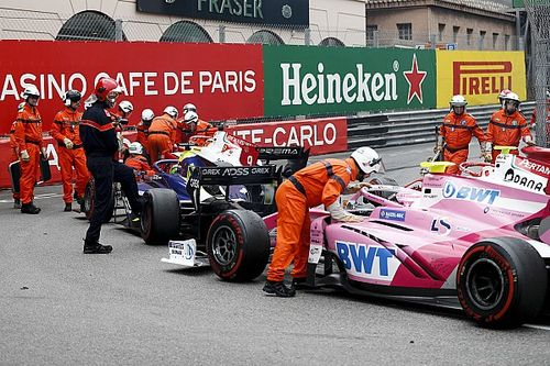 Stewards confirm error in Monaco F2 red flag procedure