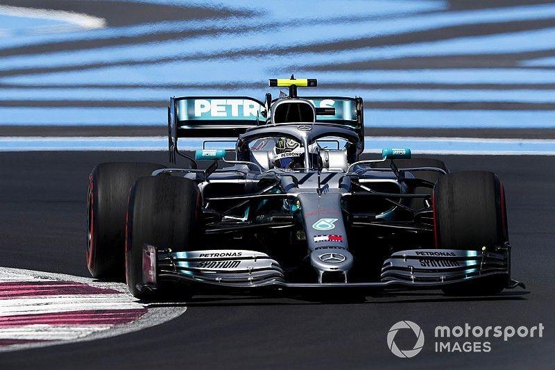 Paul Ricard, Libere 2: Bottas in fuga, Hamilton insegue. Le Ferrari sono staccate