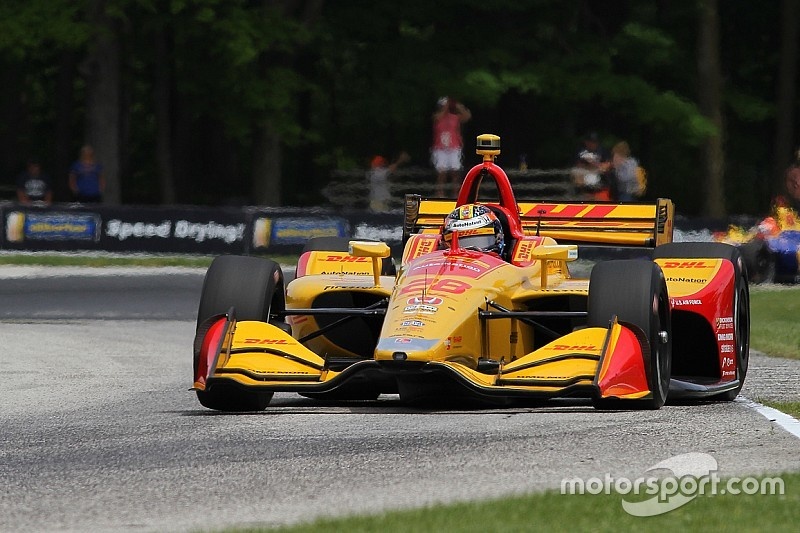 Road America IndyCar: Hunter-Reay tops opening practice
