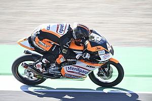 Moto3, Barcellona, Libere 3: Canet da record, brutta caduta per Rossi