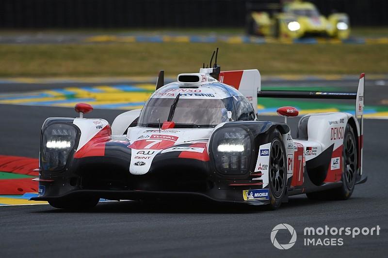 EL - Toyota en tête avec deux secondes d'avance