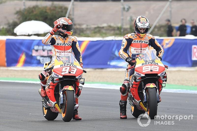 Marquez: Lorenzo, Honda ile devam etmeli