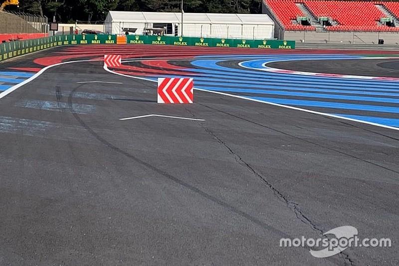 La FIA se pone más estricta con los límites de pista en Francia