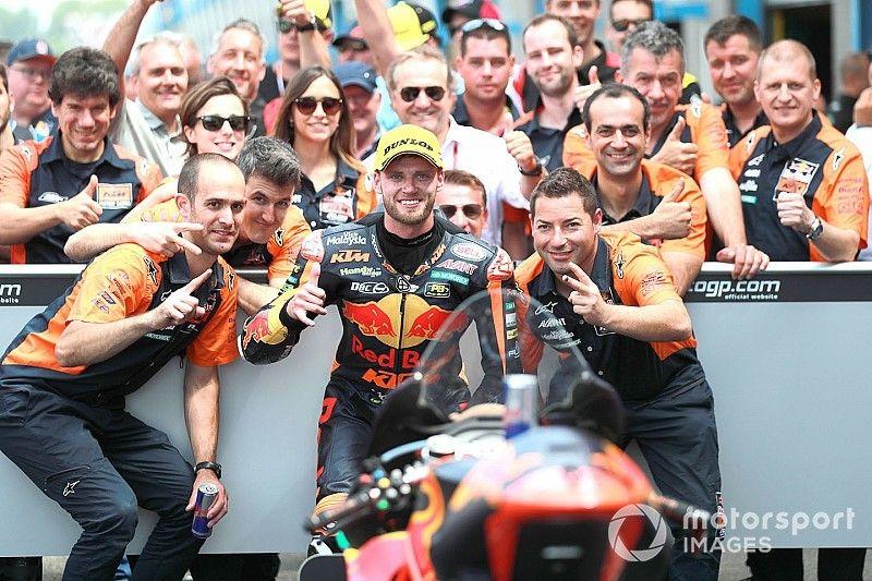 KTM confirma que Brad Binder debutará en MotoGP en 2020 en sustitución de Syahrin
