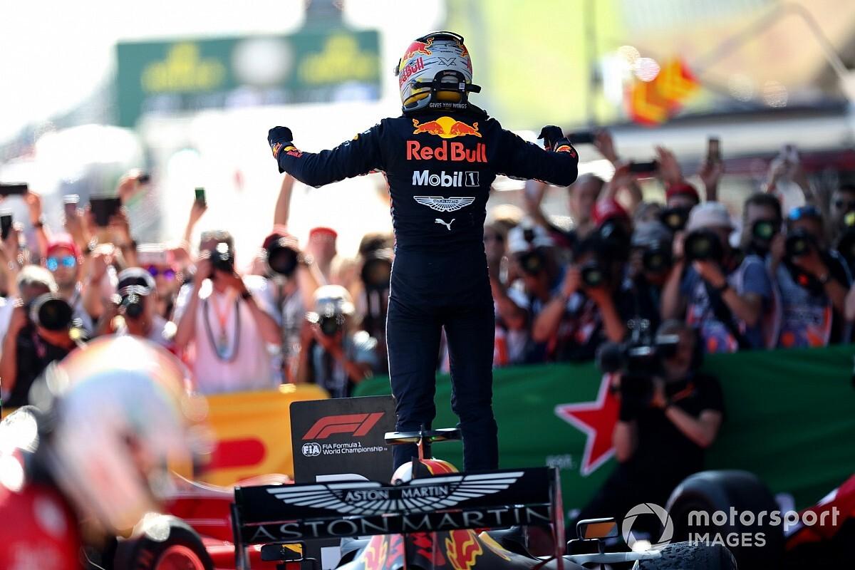 Hoe ziet de podiumceremonie er komend F1-weekend uit?