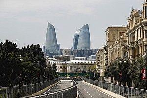 GALERI: Suasana persiapan GP Azerbaijan