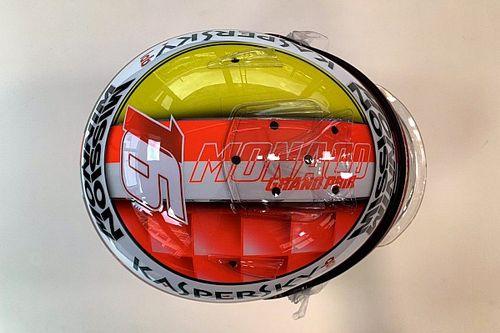 GALERIA: Em casa, Leclerc terá capacete em homenagem ao pai e Jules Bianchi