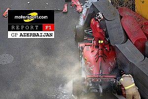 Motorsport Report F1: ecco perché la Ferrari a Baku si è arresa alla doppietta Mercedes