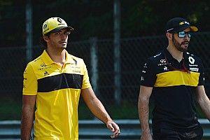 Renault y Sainz, con un ojo en lo que consiga Ricciardo en Monza