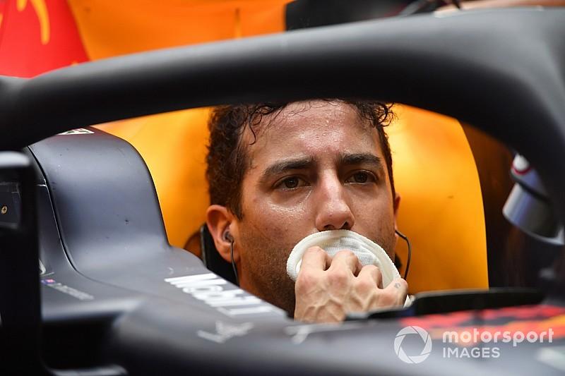"""Ricciardo: """"L'unico modo per recuperare sarà fare una sola sosta, ma credo la faranno tutti"""""""
