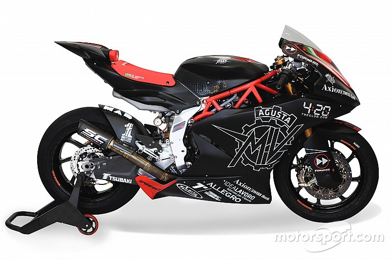 La MV Agusta Moto2 prende forma: ecco le prime immagini della moto per il 2019