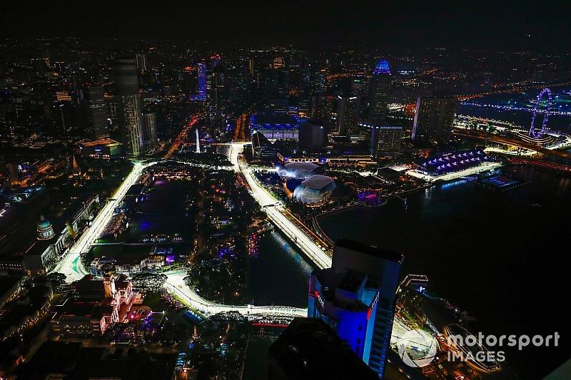A Forma-1 legfényesebb helyszíne: Szingapúr
