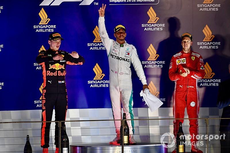 Winnaars en verliezers van de Grand Prix van Singapore