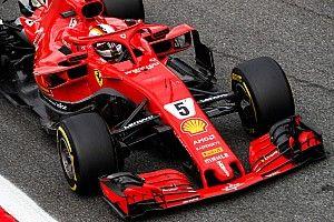 Ferrari: Vettel a 8 millesimi da Hamilton con una Rossa demolita sul lato destro!