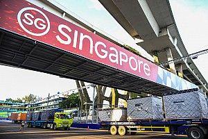 Megérkezetek az első képek a Szingapúri Nagydíjról: kezdődik!