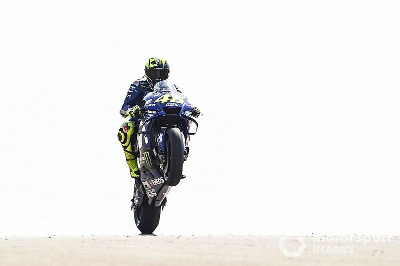 Látványos képek a MotoGP aragoni pénteki napjáról: Rossi, Lorenzo, Marquez...