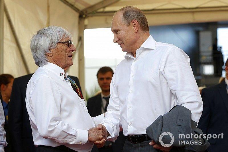De Poetin-show: Hoe Ecclestone in zee ging met de Russische president