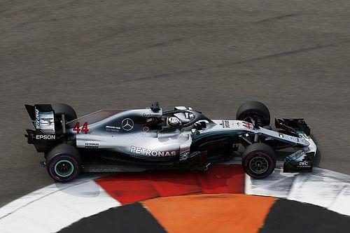 GP Rosji: Mercedes dominuje w drugim treningu