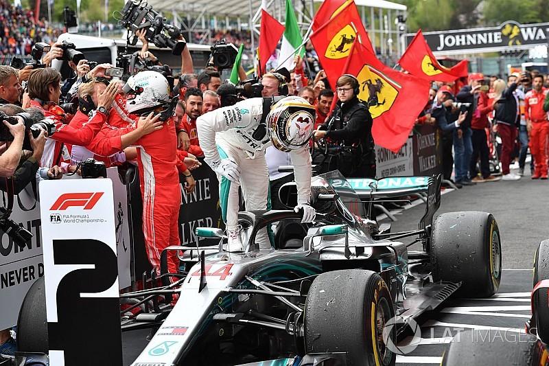 """Al escuchar a Hamilton quejarse de Ferrari casi saco mi violín, dijo Horner"