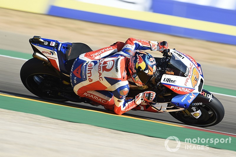 Rogue warning light hampered Miller at Aragon