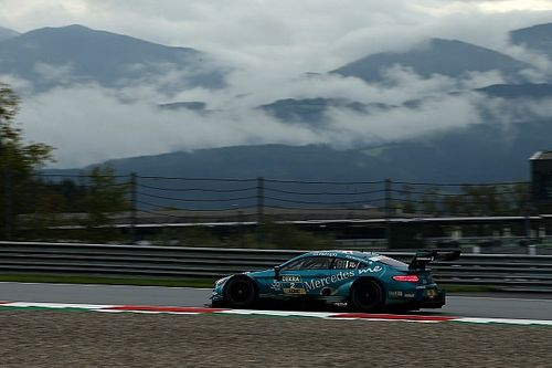 Red Bull Ring DTM: Paffett claims pole by 0.028s