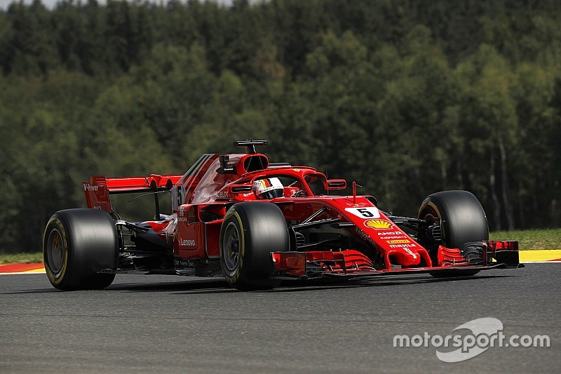 Belgian GP: Vettel leads FP1 from Verstappen