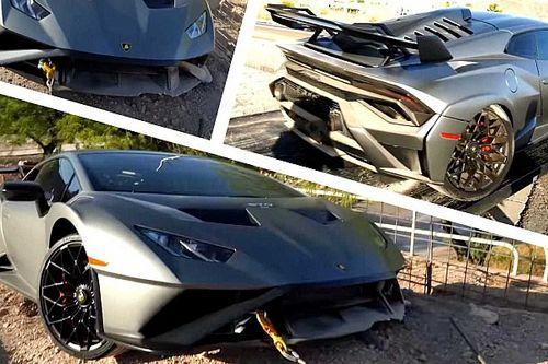 Valaki már össze is tört egy Lamborghini Huracan STO-t