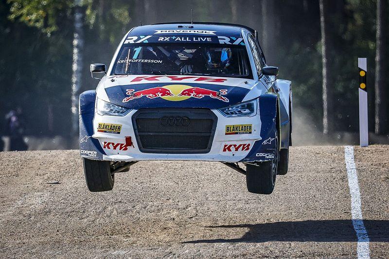 Latvia WRX: Kristoffersson beats Gronholm to score first win of 2021