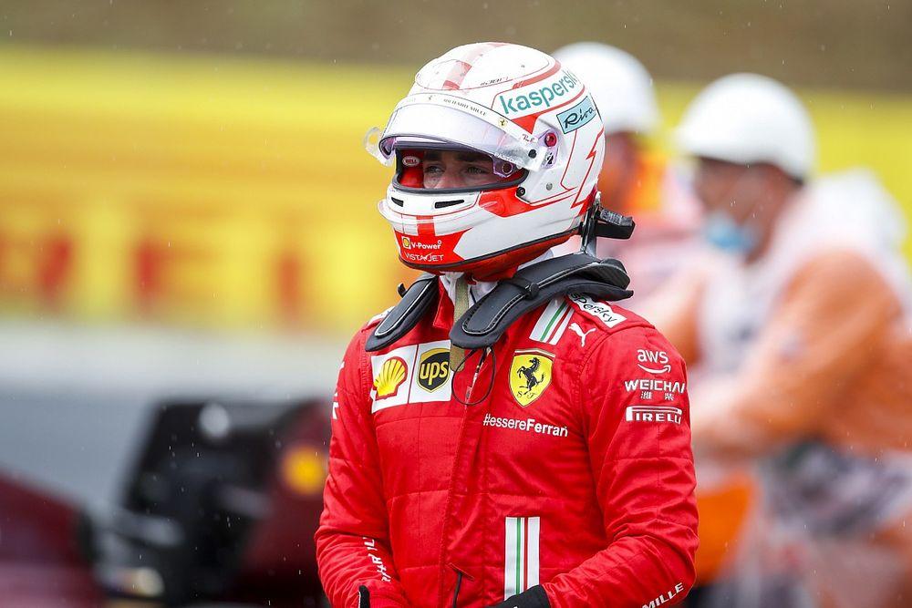 A Ferrari fejlődött idénre, de Leclerc-t ez nem igazán lepte meg