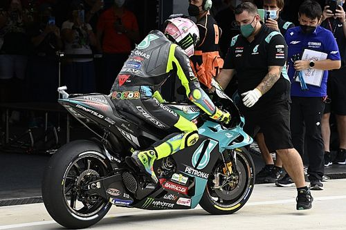 "Valentino Rossi ""very frustrated"" with Misano MotoGP Q1 crash"