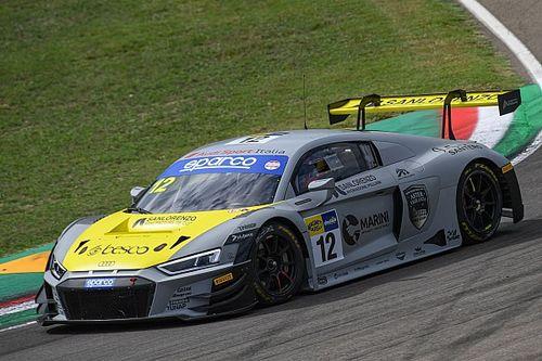 GT Sprint, Imola, Libere 2: ancora Audi all'ultimo giro