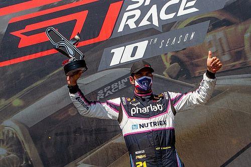 GT Sprint Race: Thiago Camilo vence corrida 2 da etapa de Curitiba