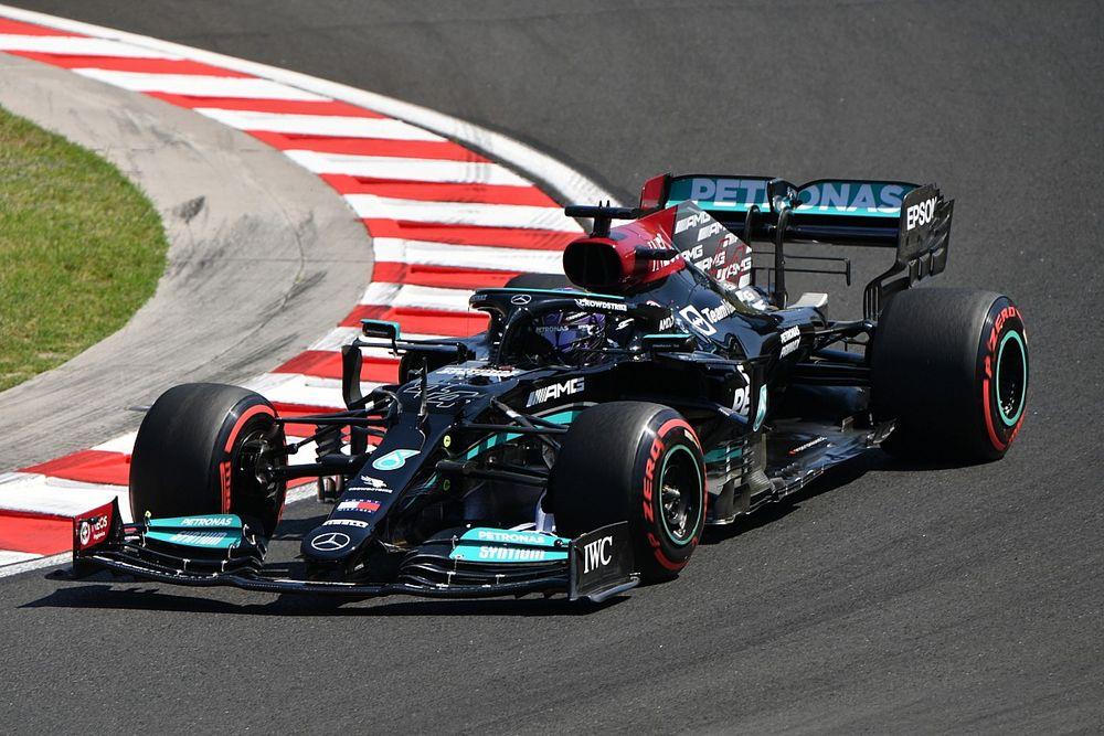 Hasil FP3 F1 GP Hungaria: Hamilton Ungguli Verstappen, Schumacher Kecelakaan