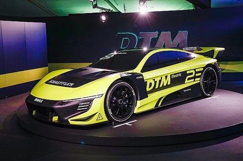 Le DTM dévoile son prototype électrique de 1000 chevaux