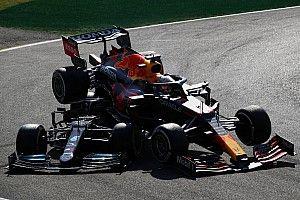 FOTO: Monza Clash antara Lewis Hamilton dan Max Verstappen