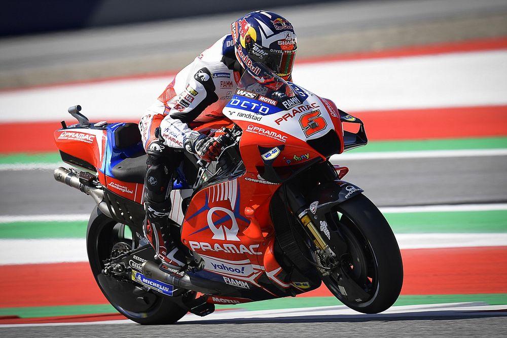 Zarco lidera la FP1 del GP de Austria