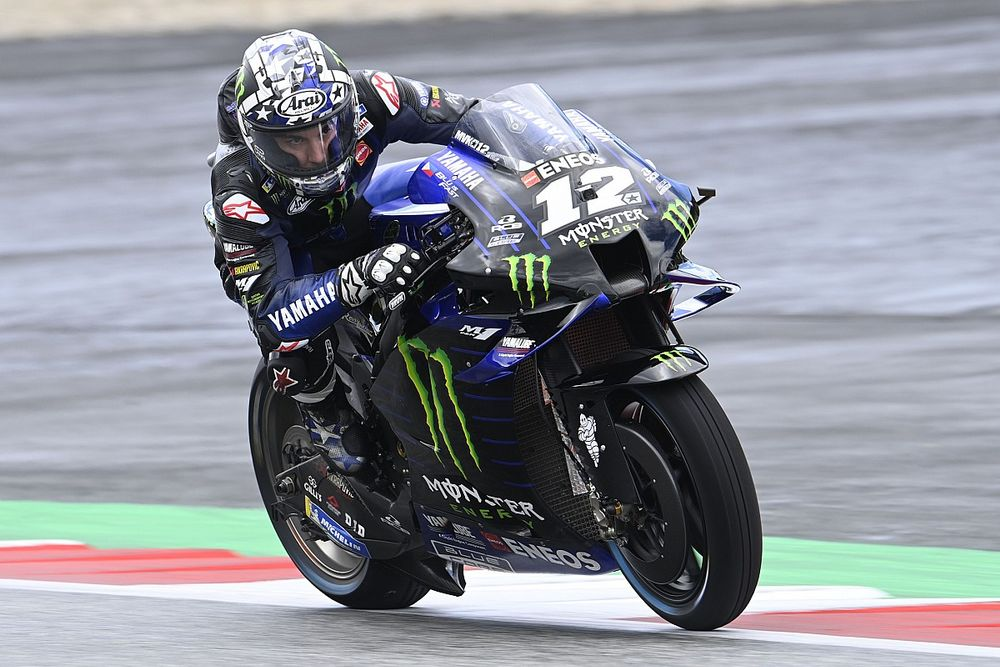 ヤマハ、MotoGPオーストリアGPでマーベリック・ビニャーレス欠場を決定。マシン操作に重大な疑義?